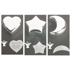 Lori Greiner 3 Angel Pins w/Silvertone Gift Boxes